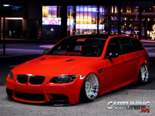 Stance BMW 320d Touring E91