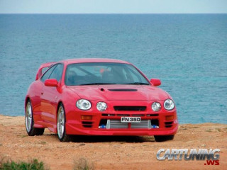 Tuning Toyota Celica ST205