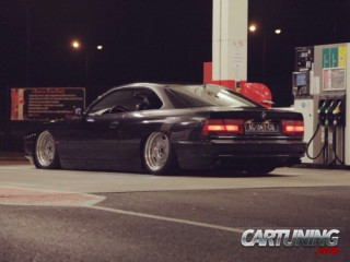 Lowered BMW 850