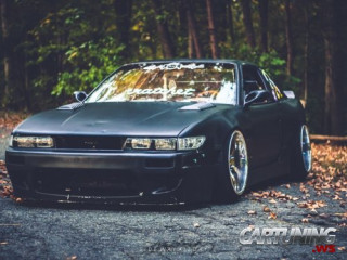 Stanced Nissan Silvia S13