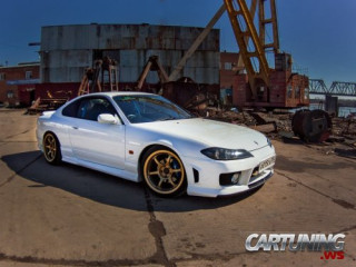 Lowered Nissan Silvia S15