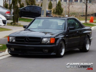 Tuning Mercedes-Benz S-Class C126 AMG Widebody