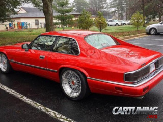 Stanced Jaguar XJS