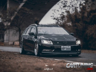 Lowered Volkswagen Passat B7 Variant