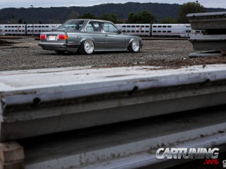 BMW 3 E30 with LS from Corvette