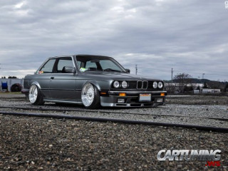 Tuning BMW 3 E30, swaped V8 LS