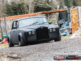 Stanced Rolls-Royce Silver Shadow