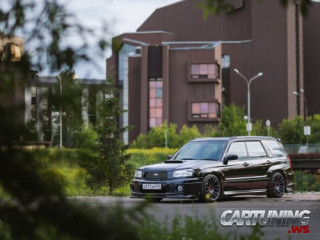 Stanced Subaru Forester