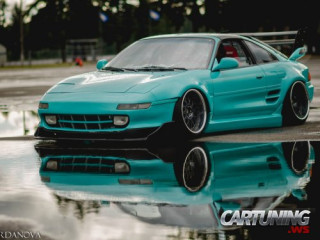 Stanced Toyota MR2