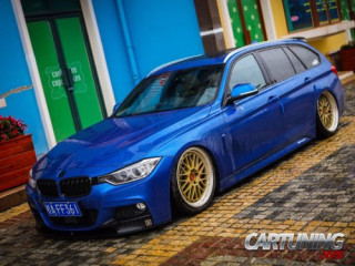 Stanced BMW 3 Touring F31