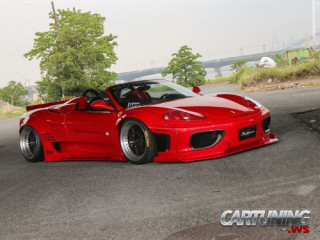 Widebody Ferrari 360 Modena Spider