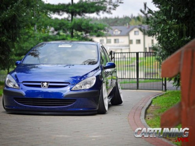 Stanced Peugeot 307