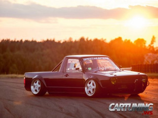 Stanced Volkswagen Golf Mk1 PickUp