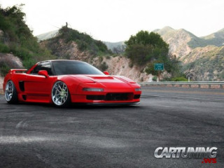 Stanced Acura NSX
