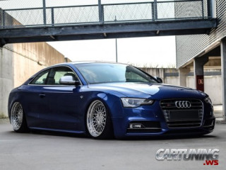 Stanced Audi S5 Coupe 2016