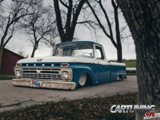 Grounded Ford F150 1966