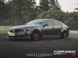 Stanced Lexus GS300 Widebody
