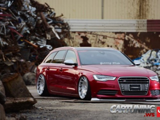 Low Audi A6 C7 on air