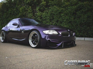 Stanced BMW Z4 M Coupe E86