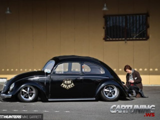 Low Volkswagen Beetle