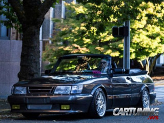Low Saab 900 Turbo Cabrio