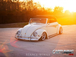 Low Volkswagen Beetle Convertible
