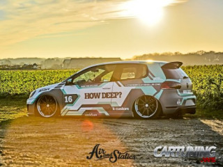 Volkswagen Golf Mk6 on air