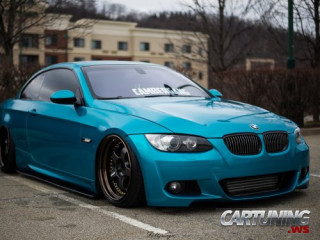 BMW 335i Cabrio E93 Airlift