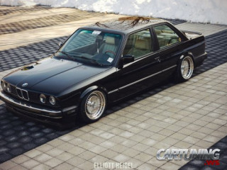 BMW 325is E30 on air