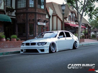 BMW 745Li E66 on air