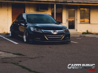 Stanced Honda Accord USA