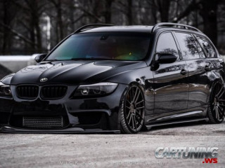 Tuning BMW 330d Touring E91