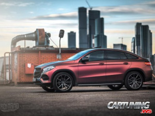 Mercedes-Benz GLE Coupe C292 chameleon