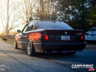 Tuning BMW 525i E34 by Dinan