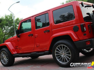 Tuning Jeep Wrangler 5 door