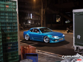 Grounded Nissan Silvia S15