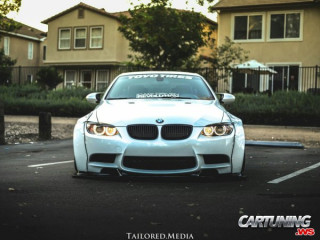 BMW M3 Coupe-Cabrio E93 Widebody