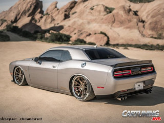 Grounded Dodge Challenger