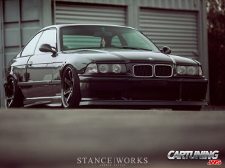 Lowered BMW M3 E36