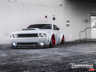 Low Dodge Challenger