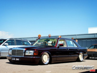Mercedes-Benz 500SEL W126 Airlift