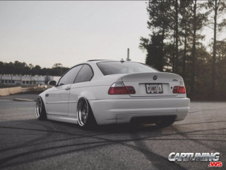 BMW M3 Coupe E46 on Air