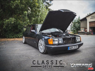 Low Mercedes-Benz 190D W201