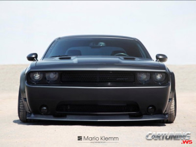 Lowered Dodge Challenger