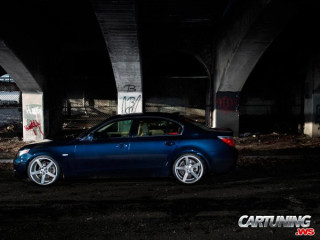 Lowered BMW M5 E60