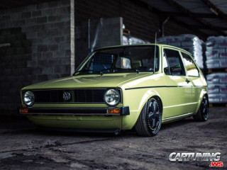 Volkswagen Golf Mk1 on Air