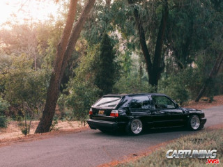 Widebody Volkswagen Golf VR6 Mk2