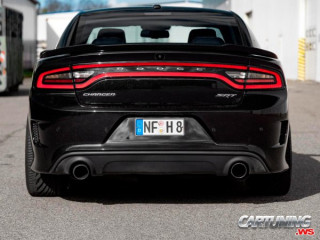 Dodge Charger on Air