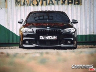 BMW 550i F10 on Air