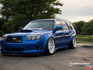 Lowered Subaru Forester